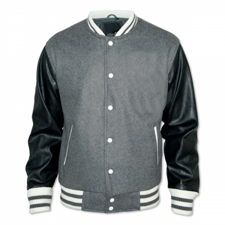 Varsity Wool Leather Jacket
